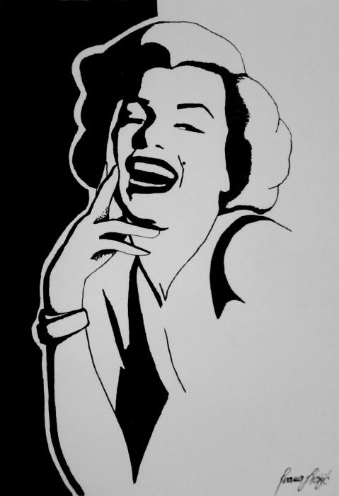 Marilyn Monroe by penInna